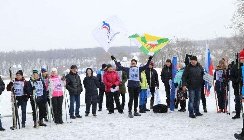 Приняли участие в «Лыжне России»